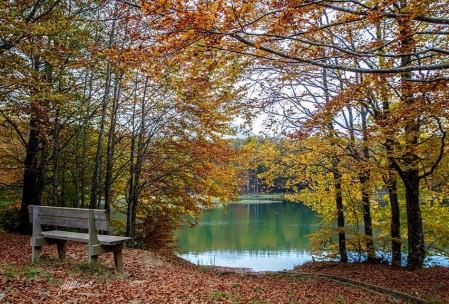 Il lago Pranda in Autunno - foto di M. Malvolti